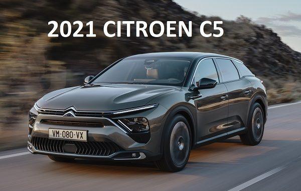 2021 Citroen C5 tanıtıldı.