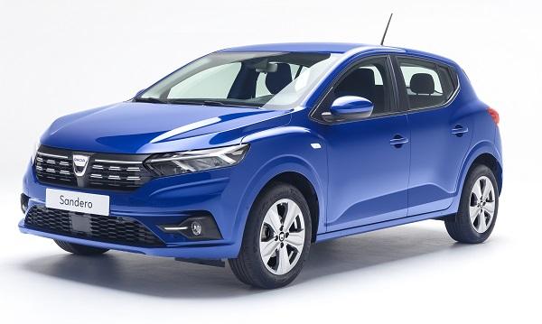 2021 Dacia Sandero fiyat listesi.