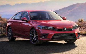 2021 Honda Civic Sedan tanıtımı.