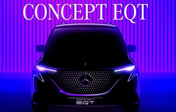 2021 Mercedes Benz EQT.