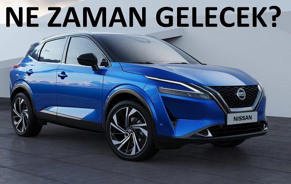 2021 Nissan Qashqai ne zaman satılacak?