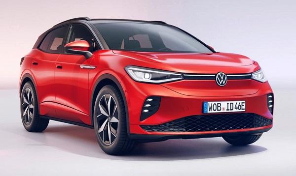 2021 Volkswagen ID4 GTX.