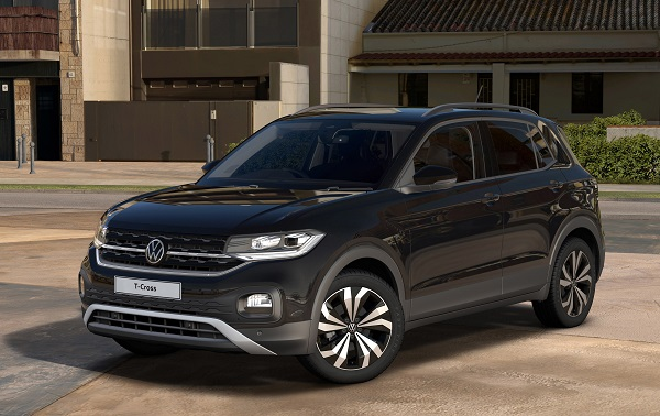 Volkswagen T Cross Black Edition.