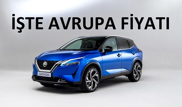 Yeni Nissan Qashqai fiyat listesi.
