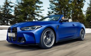 BMW M4 Competition Convertible.