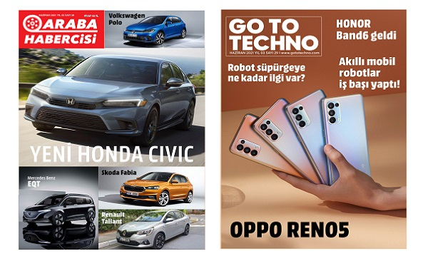Otomobil Dergileri Haziran 2021.