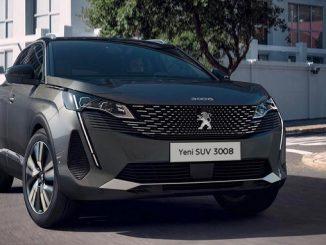 Peugeot 3008 fiyat listesi 2021.