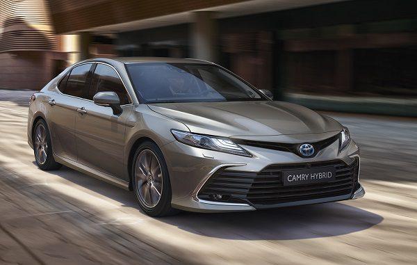 2021 Toyota Camry Hybrid.