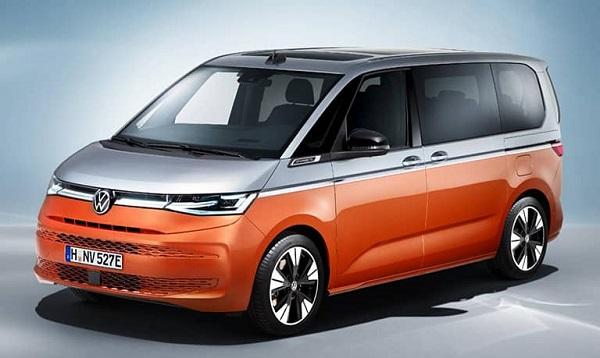 2021 Volkswagen Multivan.