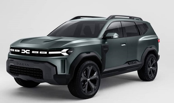 DaciaBigster Concept 2021