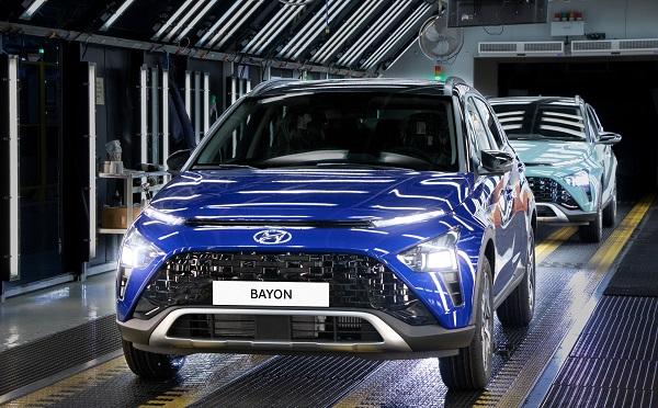 Hyundai Bayon üretimi başladı.
