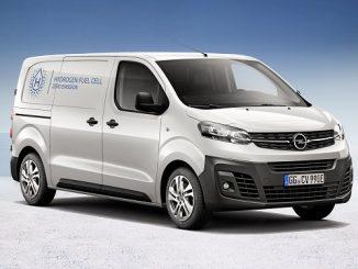 Opel Vivaro e HYDROGEN.