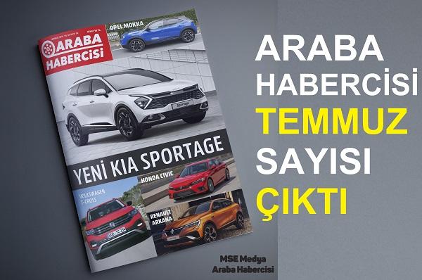Otomobil Dergileri Temmuz 2021