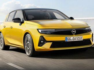2021 Opel Astra Yeni.