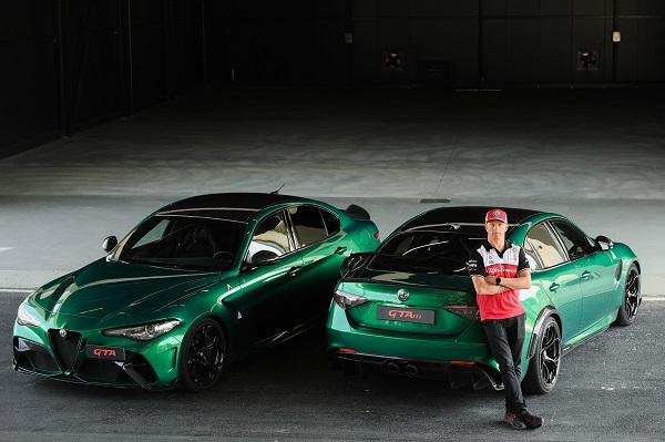 Alfa Romeo Giulia GTA Raikkonen
