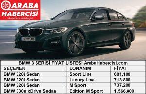 BMW 3 Serisi Fiyat