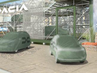 Dacia7 koltuklu aile otomobili.