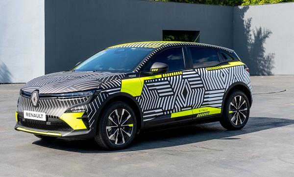 Elektrikli Renault Megane 2021.