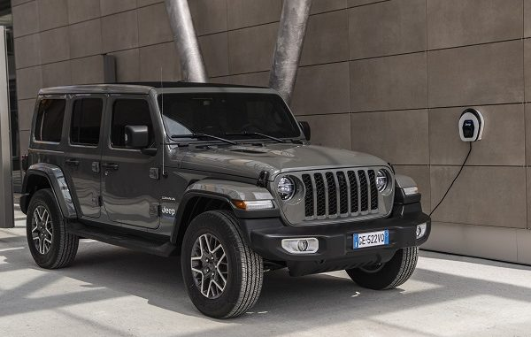 Jeep Wrangler PHEV 2021.