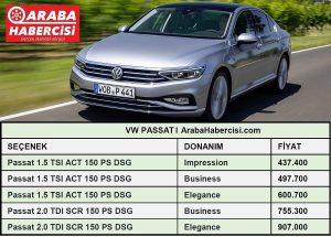 Volkswagen Passat fiyatları Temmuz.