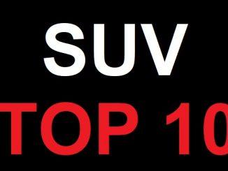 2021 SUV Top 10.