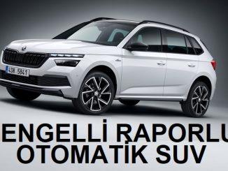Engelli raporlu SUV ötv.