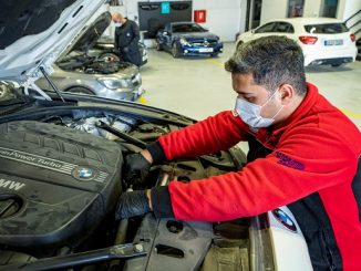 Otomobil servisleri sanayi.