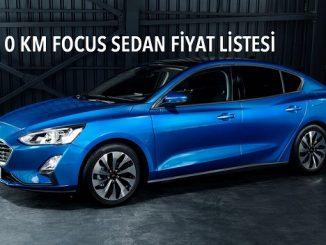 0 km Ford Focus fiyatları.