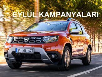 2021 Dacia kampanyası Eylül.