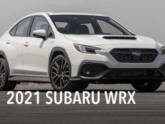 2021 Subaru WRX.