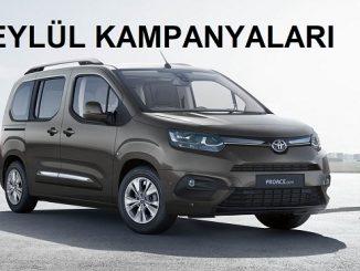 2021 Toyota Kampanyaları Eylül.