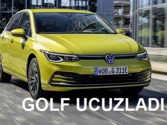 2021 VW Golf fiyat listesi.