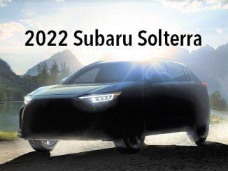 2022Subaru SOLTERRA.