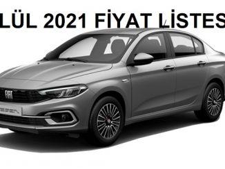 Fiat Egea Sedan fiyat listesi.