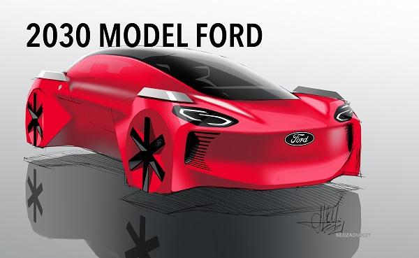 Geleceğin arabalarının özellikleri Ford.