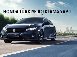 Honda Türkiye basın açıklaması 2021.