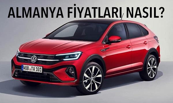Volkswagen Taigo fiyat listesi.