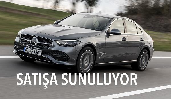 Yeni Mercedes C Serisi fiyatı.