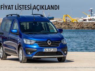 Yeni Renault Express Combi fiyatı.