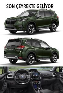 Yeni Subaru Forester e BOXER