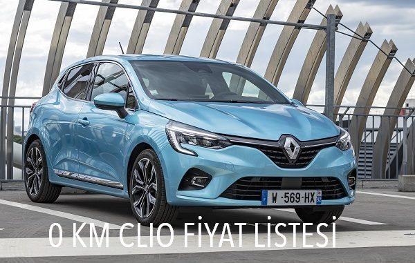 0 km Renault Clio fiyatı.