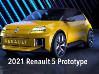 2021Renault 5 Prototype.