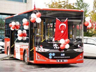 Ankara Karsan Atak otobüsler.