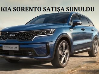 Kia Sorento fiyat listesi 2021.