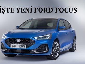 Yeni Ford Focus 2022.